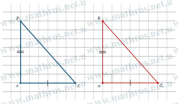 Обернена теорема Піфагора доведення